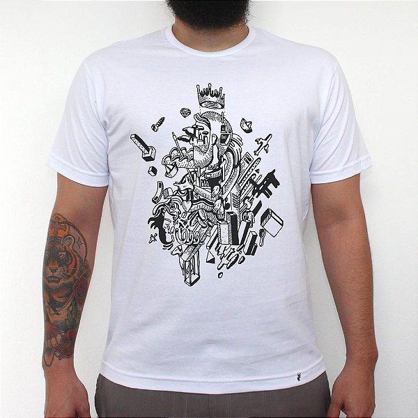 Coisas - Camiseta Clássica Masculina