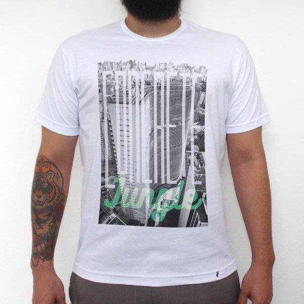 Concrete Jungle - Camiseta Clássica Masculina