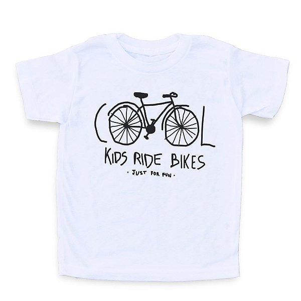 Cool Kids Ride Bikes - Camiseta Clássica Infantil