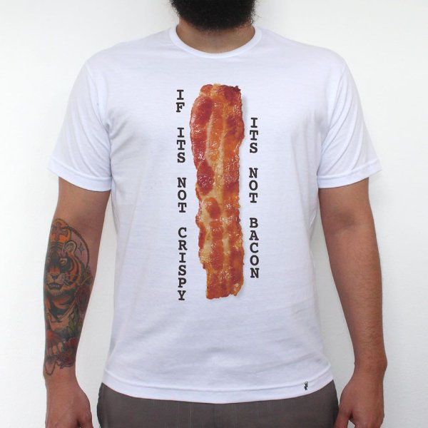 Crispy - Camiseta Clássica Masculina