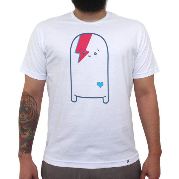 Cuti Bowie - Camiseta Clássica Masculina