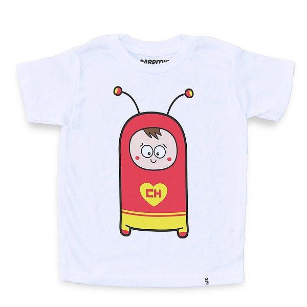 Cuti Chapolin - Camiseta Clássica Infantil
