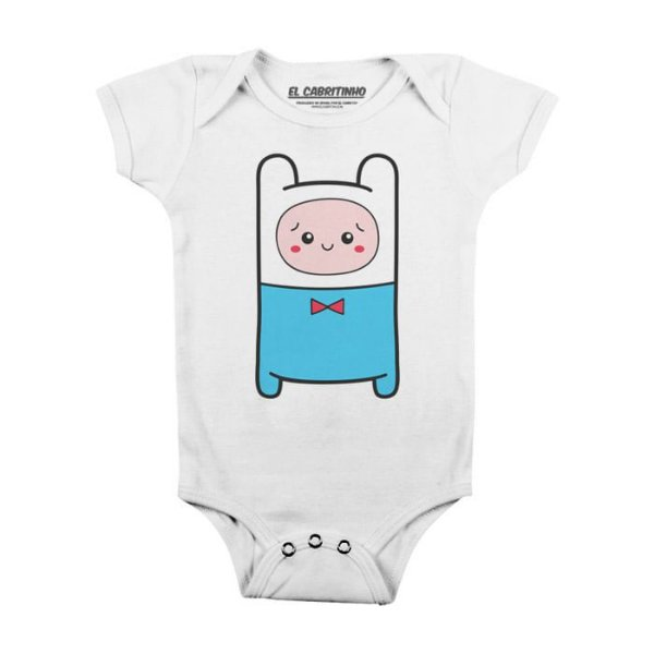 Cuti Finn - Body Infantil