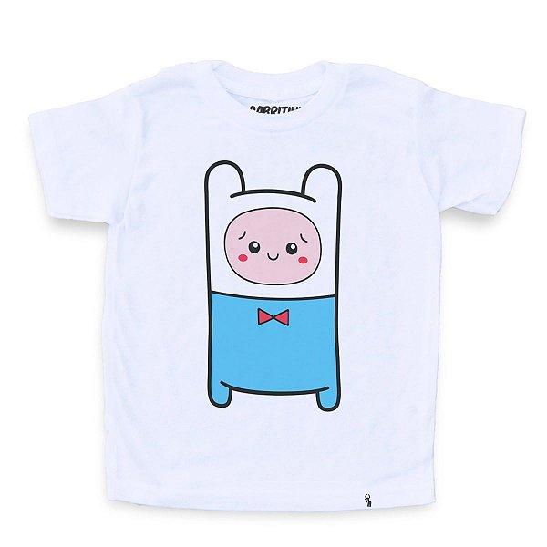 Cuti Finn - Camiseta Clássica Infantil