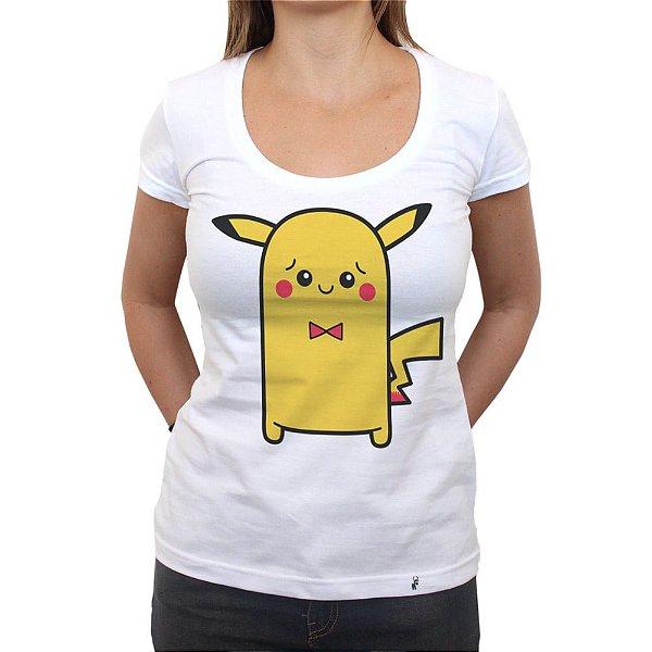 Cuti Pikachu - Camiseta Clássica Feminina