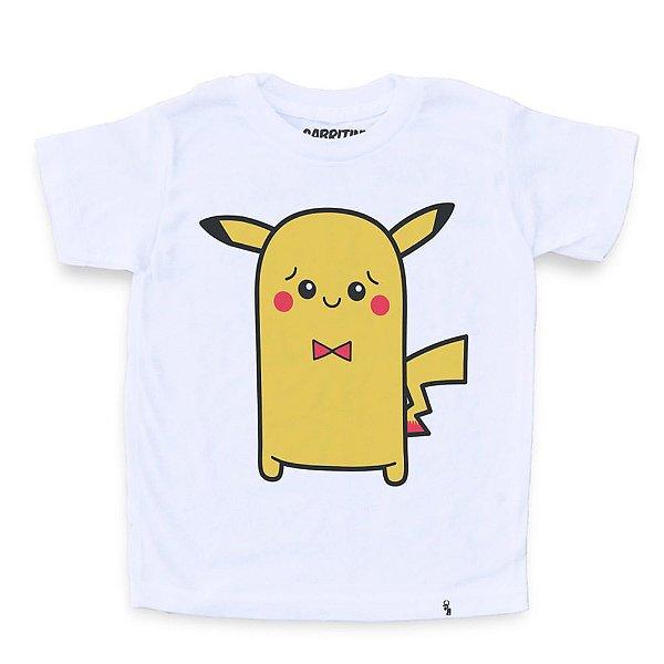 Cuti Pikachu - Camiseta Clássica Infantil