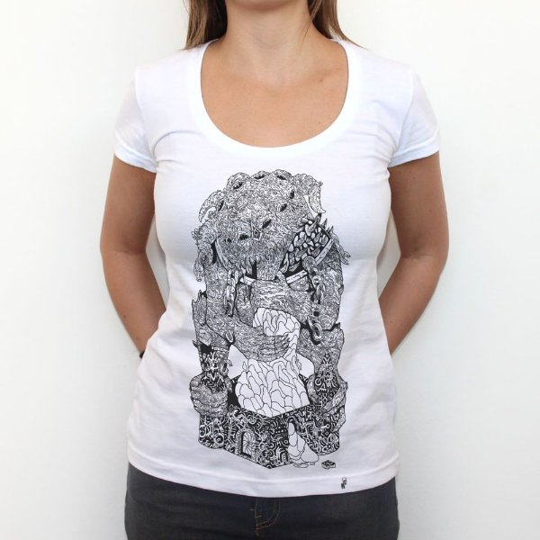 Devorador - Camiseta Clássica Feminina