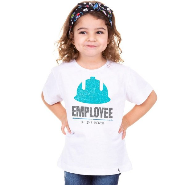 Employee of the Month - Camiseta Clássica Infantil