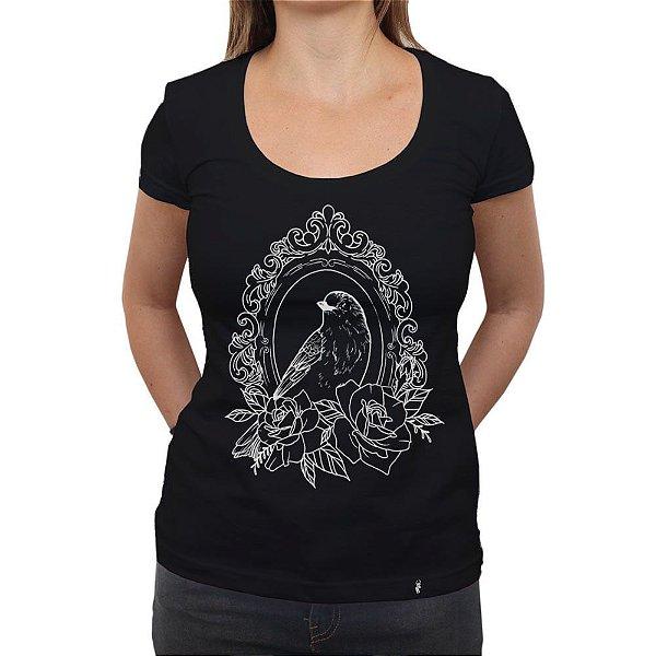 Espelho - Camiseta Clássica Feminina