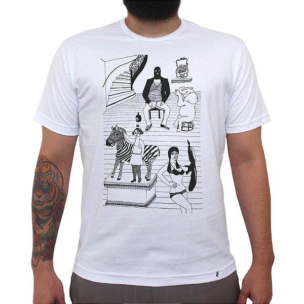 Família - Camiseta Clássica Masculina
