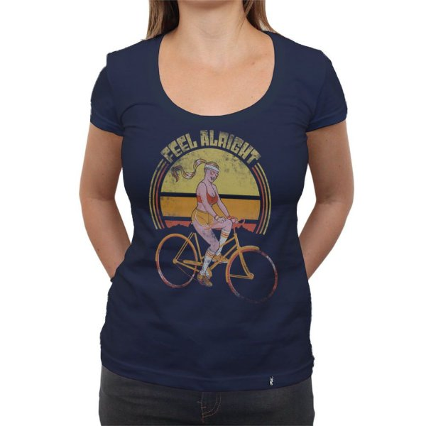 Feel Allright - Camiseta Clássica Feminina