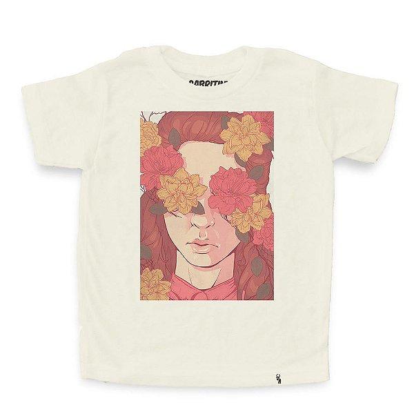Floral Blindness - Camiseta Clássica Infantil