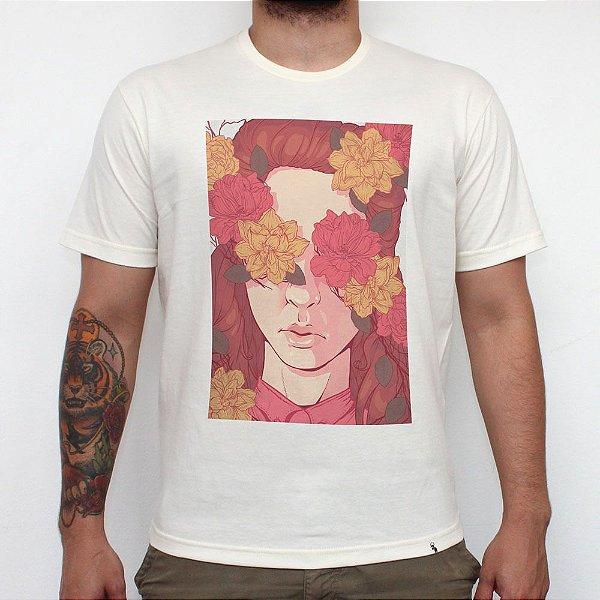 Floral Blindness - Camiseta Clássica Masculina