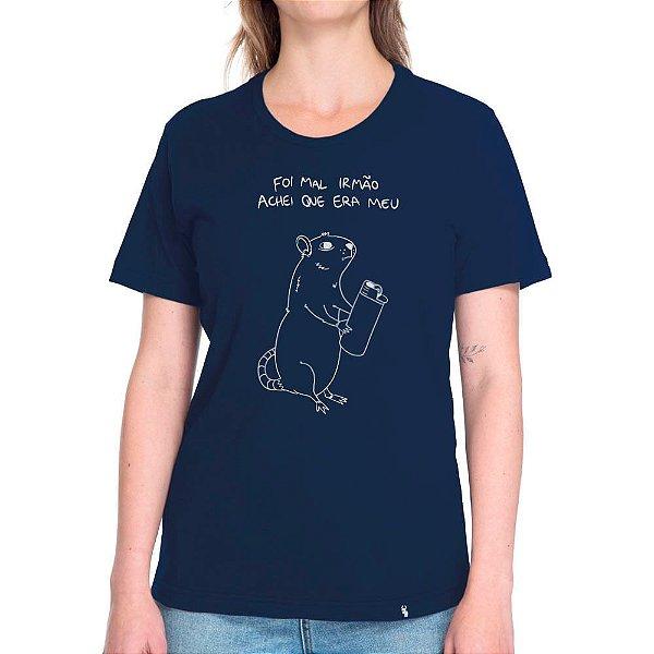 Foi Mal Irmão - Camiseta Basicona Unissex
