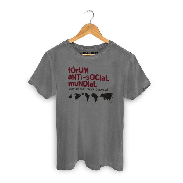 Fórum Anti-social - Camiseta Clássica Masculina