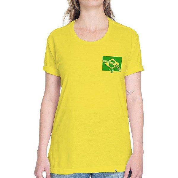 Futebol de Verdade - Camiseta Basicona Unissex