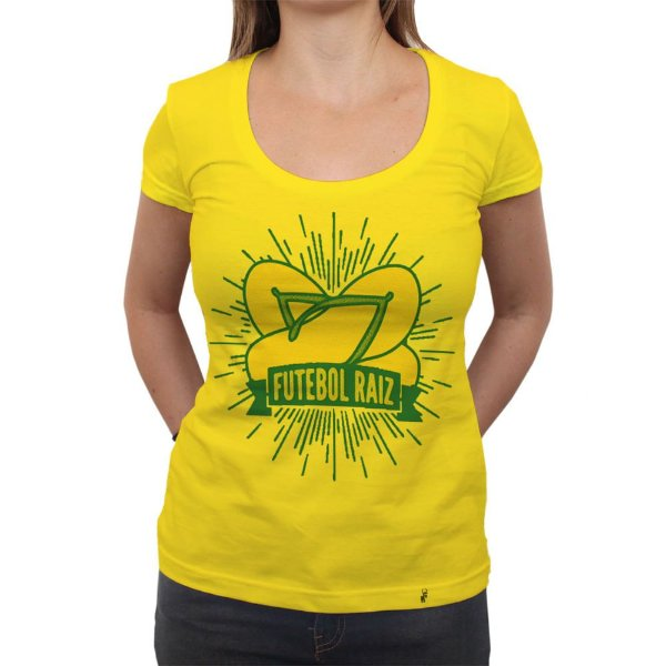 Futebol Raiz - Camiseta Clássica Feminina
