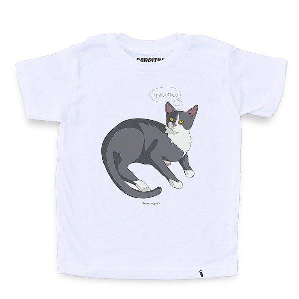 Gatês - Camiseta Clássica Infantil