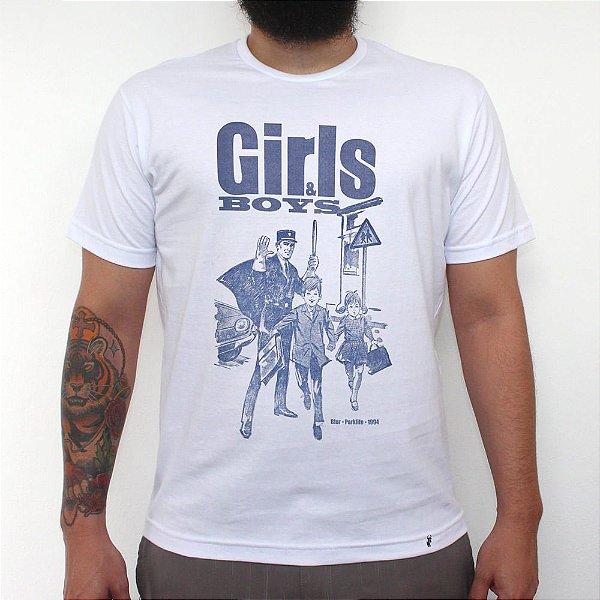 Girls & Boys - Camiseta Clássica Masculina