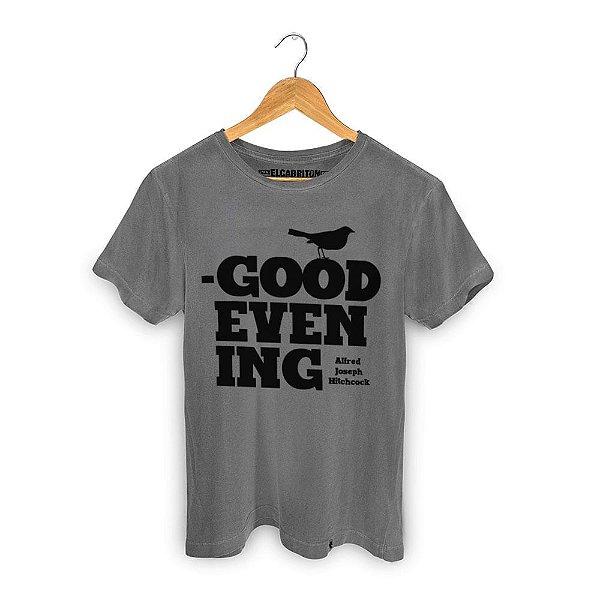 Good Evening - Camiseta Clássica Masculina