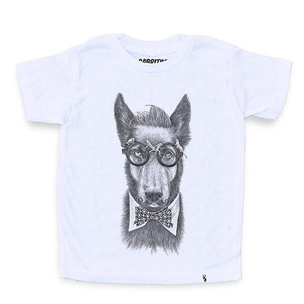 Hipster Dog - Camiseta Clássica Infantil