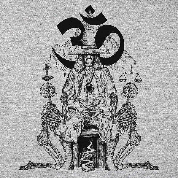 Holy Mountain - Camiseta Raglan Manga Longa Masculina
