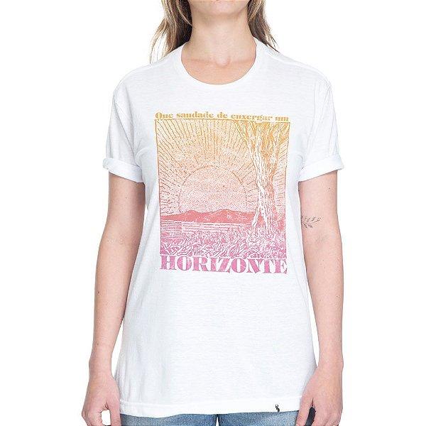 Horizonte - Camiseta Basicona Unissex