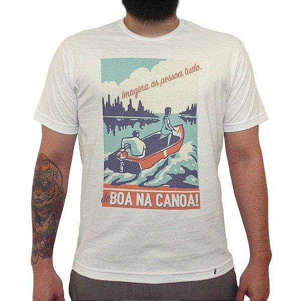 Imagina as Pessoa Tudo - Camiseta Clássica Masculina