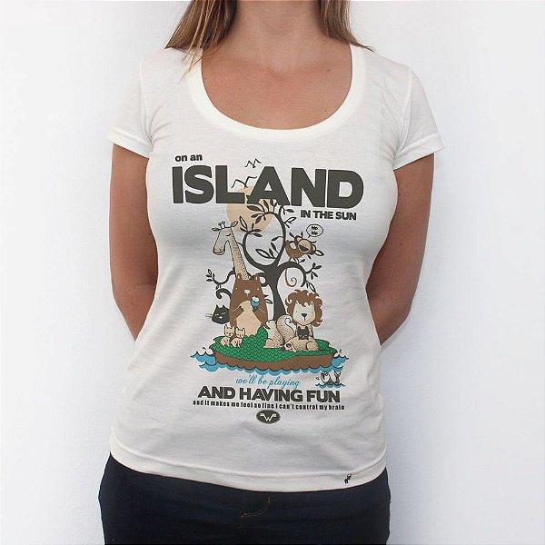 Island in The Sun - Camiseta Clássica Feminina