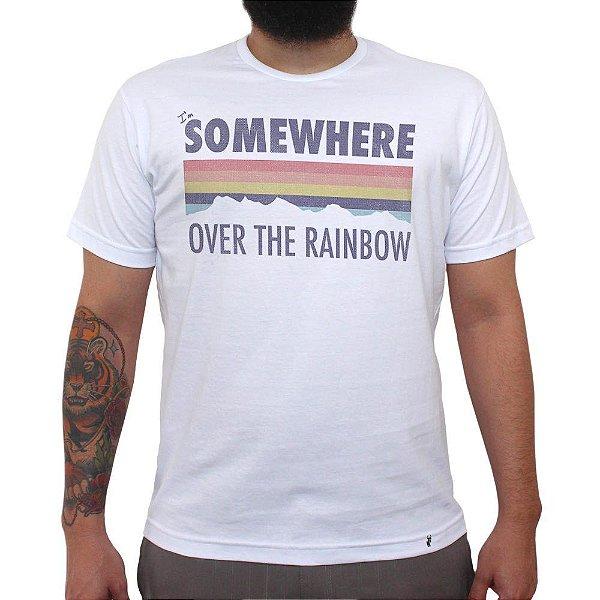 I`m Somewhere Over The Rainbow - Camiseta Clássica Masculina