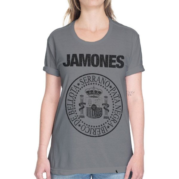 Jamones - Camiseta Basicona Unissex