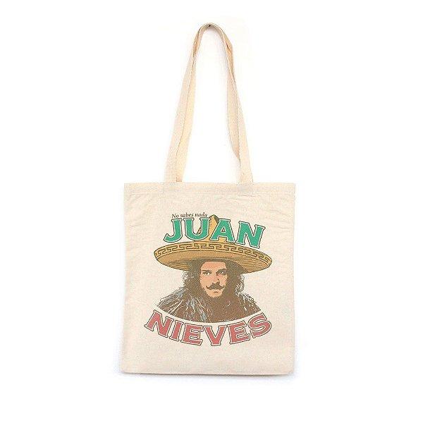 Juan Nieves  - Bolsa de Lona-Off White-U