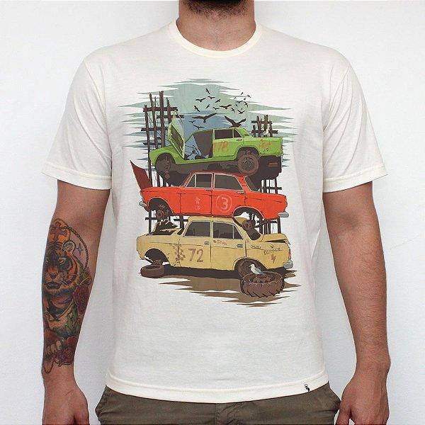 Junkyard Pier - Camiseta Clássica Masculina