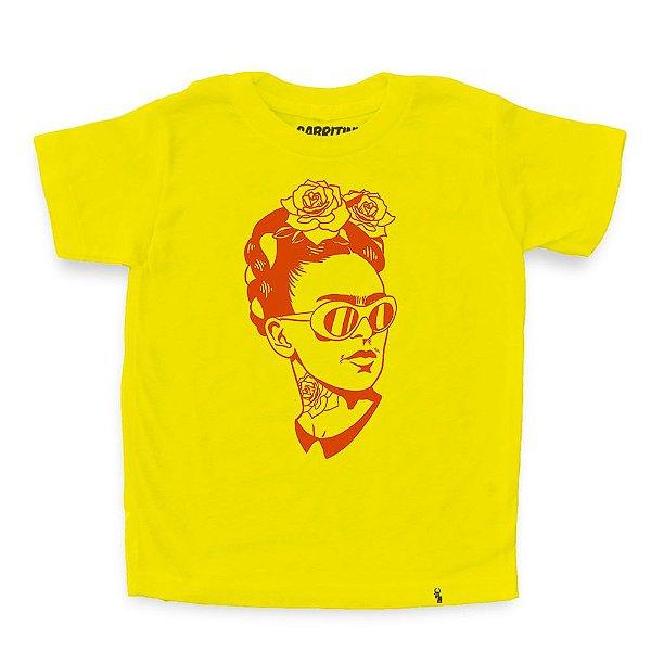 Kahlo Hipster - Camiseta Clássica Infantil
