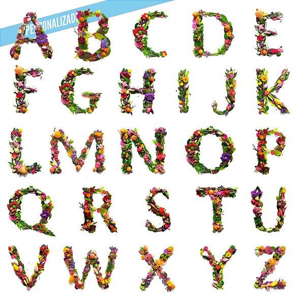 Kit Carmen Alphabet Personalizada - Body Infantil