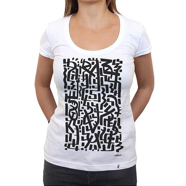 KLEVS - Camiseta Clássica Feminina