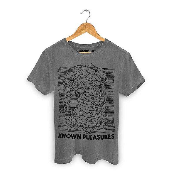 Known Pleasures - Camiseta Clássica Masculina