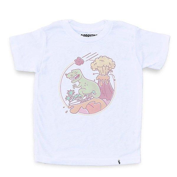 Lava Surfing - Camiseta Clássica Infantil