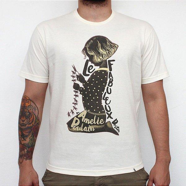 Le Fabuleux Destin d' Amelie Poulain - Camiseta Clássica Masculina