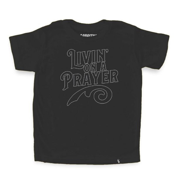 Livin On a Prayer - Camiseta Clássica Infantil