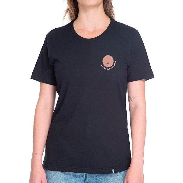 Livre Demanda - Camiseta Basicona Unissex