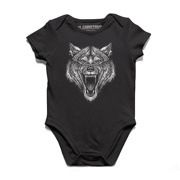 Lobo - Body Infantil