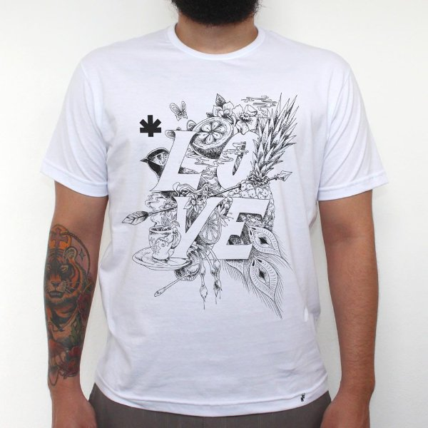 Love - Camiseta Clássica Masculina