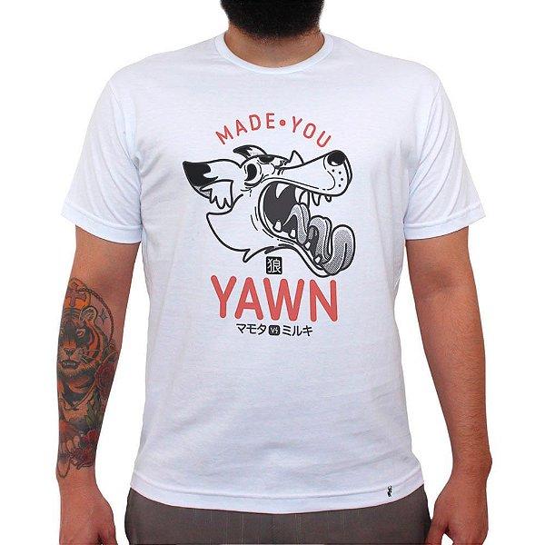 Made You Yawn - Camiseta Clássica Masculina