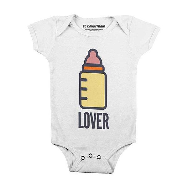 Mamadeira Lover - Body Infantil