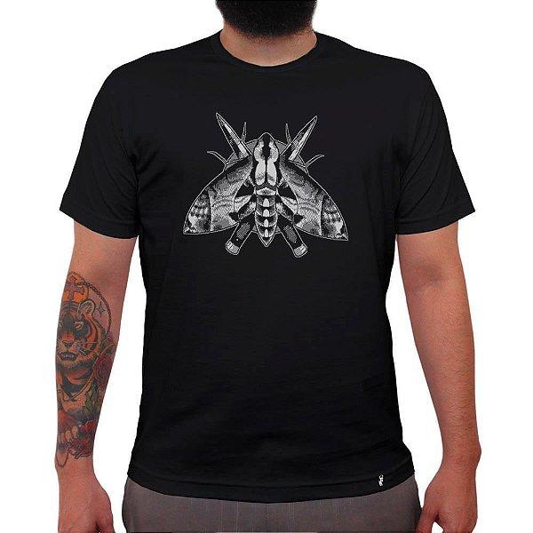 Mariposa - Camiseta Clássica Masculina