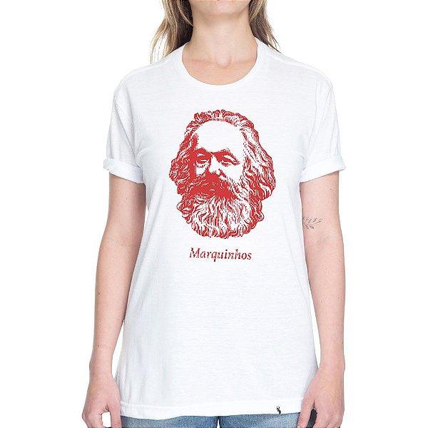 Marquinhos - Camiseta Basicona Unissex