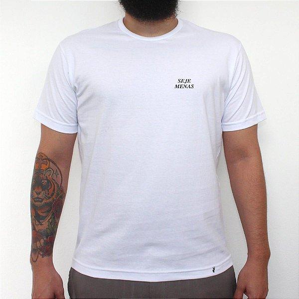 MINI TIPO SEJE MENAS - Camiseta Clássica Masculina