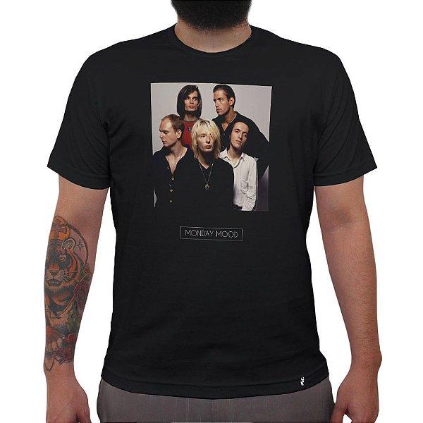 Monday Mood - Camiseta Clássica Masculina