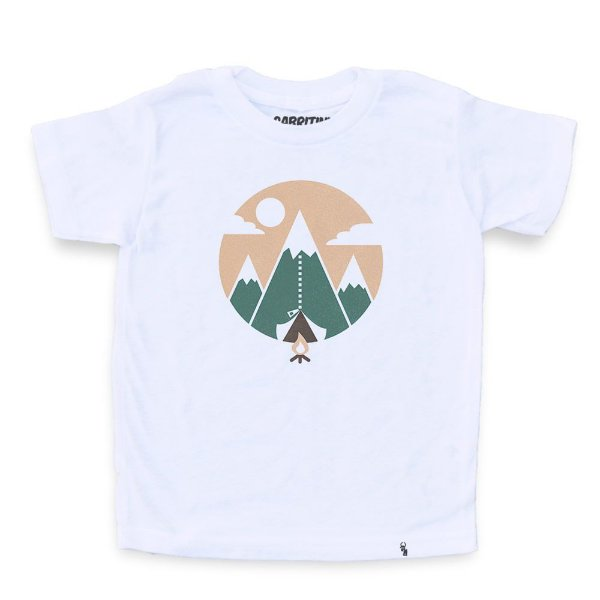 Mountain Tent - Camiseta Clássica Infantil